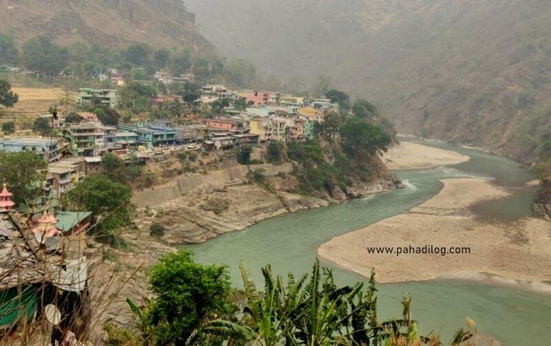 Jhulaghat India Nepal Border at Pithoragarh, Uttarakhand